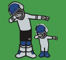 Let's DAB with CAM NEWTON One Piece - Short Sleeve