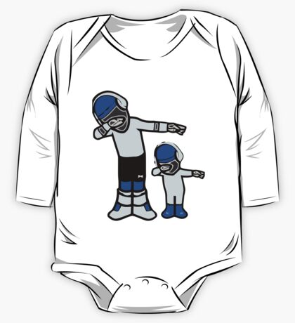 Let's DAB with CAM NEWTON One Piece - Long Sleeve
