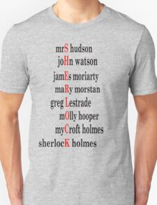 Sherlock acrostic  T-Shirt