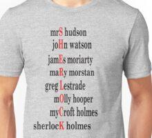 Sherlock acrostic  Unisex T-Shirt