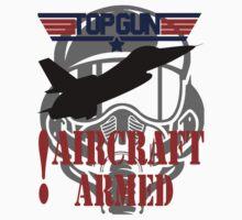 AIRCRAFT ARMED - TOP GUN One Piece - Long Sleeve