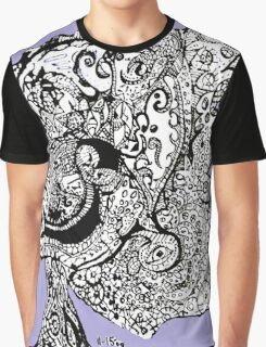 Abstract Sketch  Graphic T-Shirt