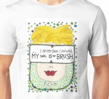 My Soul Is My Brush Unisex T-Shirt