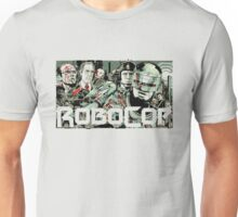 Robocop T-Shirt Transparent (White, grey or creme) Unisex T-Shirt