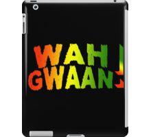 Wah Gwaan! Jamaican Style iPad Case/Skin
