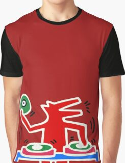 DJ HARING Graphic T-Shirt