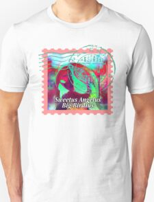 MACAW PSYCHEDELIC POSTAGE STAMP T-Shirt