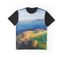 Bird's eye view over Bavaria Graphic T-Shirt