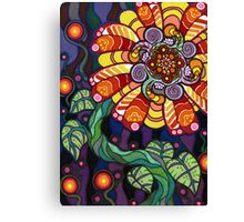 Psychedelic Flower Canvas Print