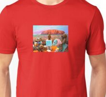 Soapy the Ted gets up on his Soapbox and talks to a Multiculture Bored Audience Unisex T-Shirt