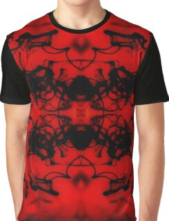 Mirrored Water Black and Red 2 Graphic T-Shirt