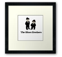 Jake and Elwood The Blues Brothers Framed Print