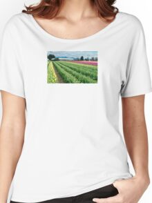 Tulip Time Women's Relaxed Fit T-Shirt
