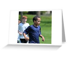 Going Out on the Field Greeting Card