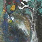 Face in Blue by Faith Magdalene Austin