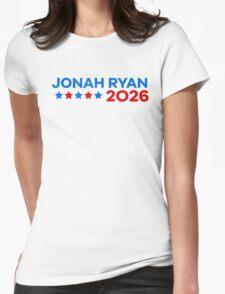 Jonah Ryan 2026! Womens Fitted T-Shirt