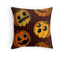 Just the Punkins Throw Pillow