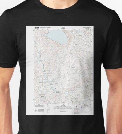 USGS TOPO Map New Jersey NJ Flemington 20110412 TM Unisex T-Shirt