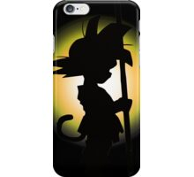 Goku - Silhouette iPhone Case/Skin