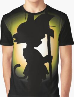 Goku - Silhouette Graphic T-Shirt