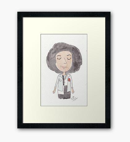 Doctor Who - It's Bill! Framed Print