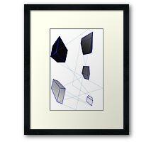 3Dcubes Framed Print