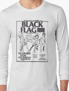 Black Flag T-Shirt Long Sleeve T-Shirt