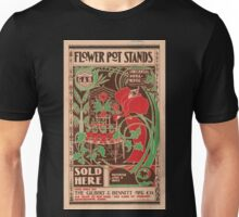 Artist Posters Flower pot stands sold here 0590 Unisex T-Shirt