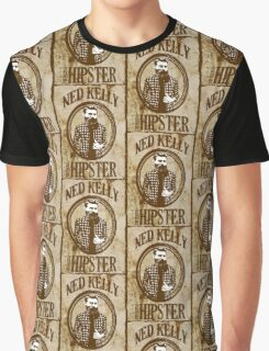 Ned Kelly the original hipster Graphic T-Shirt