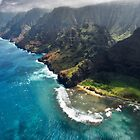The Na Pali Coast - Kauai by Michael Treloar