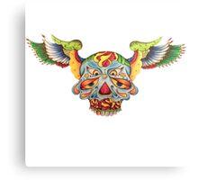 Flying Sugar Skull Canvas Print