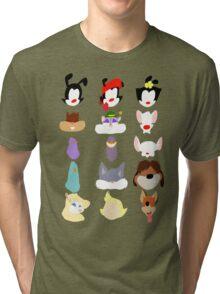 Animaniacs Animal Cast Tri-blend T-Shirt