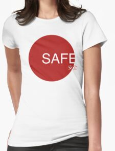 Safe. Womens Fitted T-Shirt