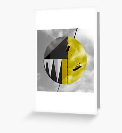 Gold & Gray Greeting Card