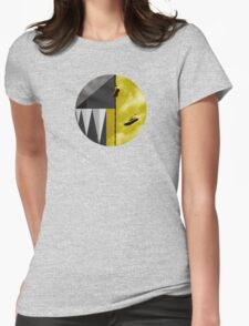 Gold & Gray Womens Fitted T-Shirt