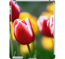 Red and White Tulips iPad Case/Skin