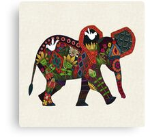 little elephant Canvas Print