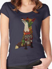 fox love juniper Women's Fitted Scoop T-Shirt