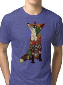 fox love juniper Tri-blend T-Shirt