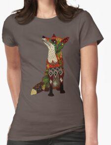 fox love juniper Womens Fitted T-Shirt