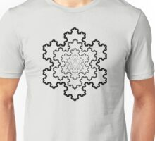 The Koch Snowflake Unisex T-Shirt