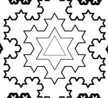 The Koch Snowflake Sticker