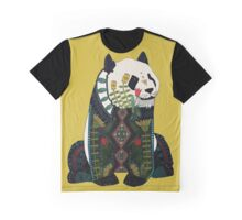 panda ochre Graphic T-Shirt