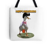 Halloween Pirate Duck  Tote Bag