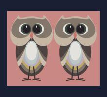 OWLISH OWL TWINS One Piece - Short Sleeve