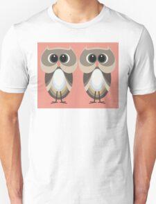 OWLISH OWL TWINS Unisex T-Shirt