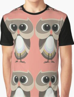 OWLISH OWL TWINS Graphic T-Shirt