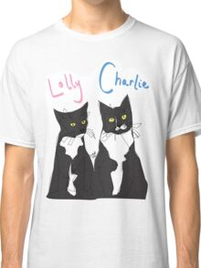 Charlie and Lolly (@charlieskittyadventures) Classic T-Shirt