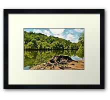 And Never Come Back Framed Print