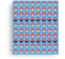 Star Kitty Army Canvas Print